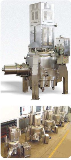 Agitated Nutsche Filter/Dryers