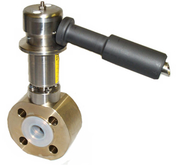 PFA lined Wafer Style Sampling Valve