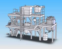 2 Specialty Chemical Production Plant solidworks