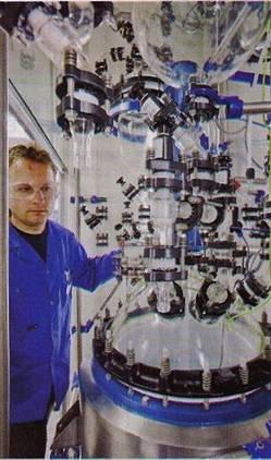 5 API Kilo Plant Reactor close up