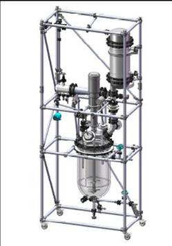 QVF Solid Glass Reactors