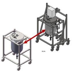 Biopharm reactor system model