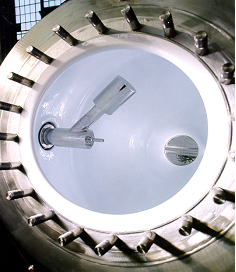 Glass-lined conical dryer