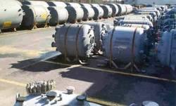 Storage tank stock yard
