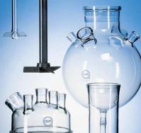 QVF glass components