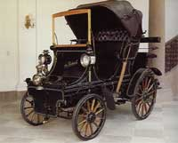 De Dietrich moved into automobile construction in 1896.  The first De Dietrich car is on display at Chateau De Reichshoffen, De Dietrich World Headquarters