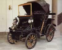 De Dietrich moved into automobile construction in 1896.  The first De Dietrich car is on display at Chateau De Reichshoffen, De Dietrich World Headquarters
