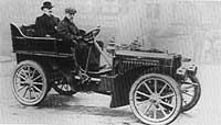 De Dietrich employed such notables as Ettore Bugatti seen here chauffeuring Baron Eugene De Dietrich in 1902