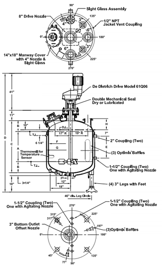 Designing a Glass-Lined Vessel: How to Specify a Reactor