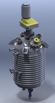 GL500 HemiCoil Reactor