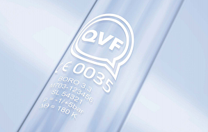QVF glass marking