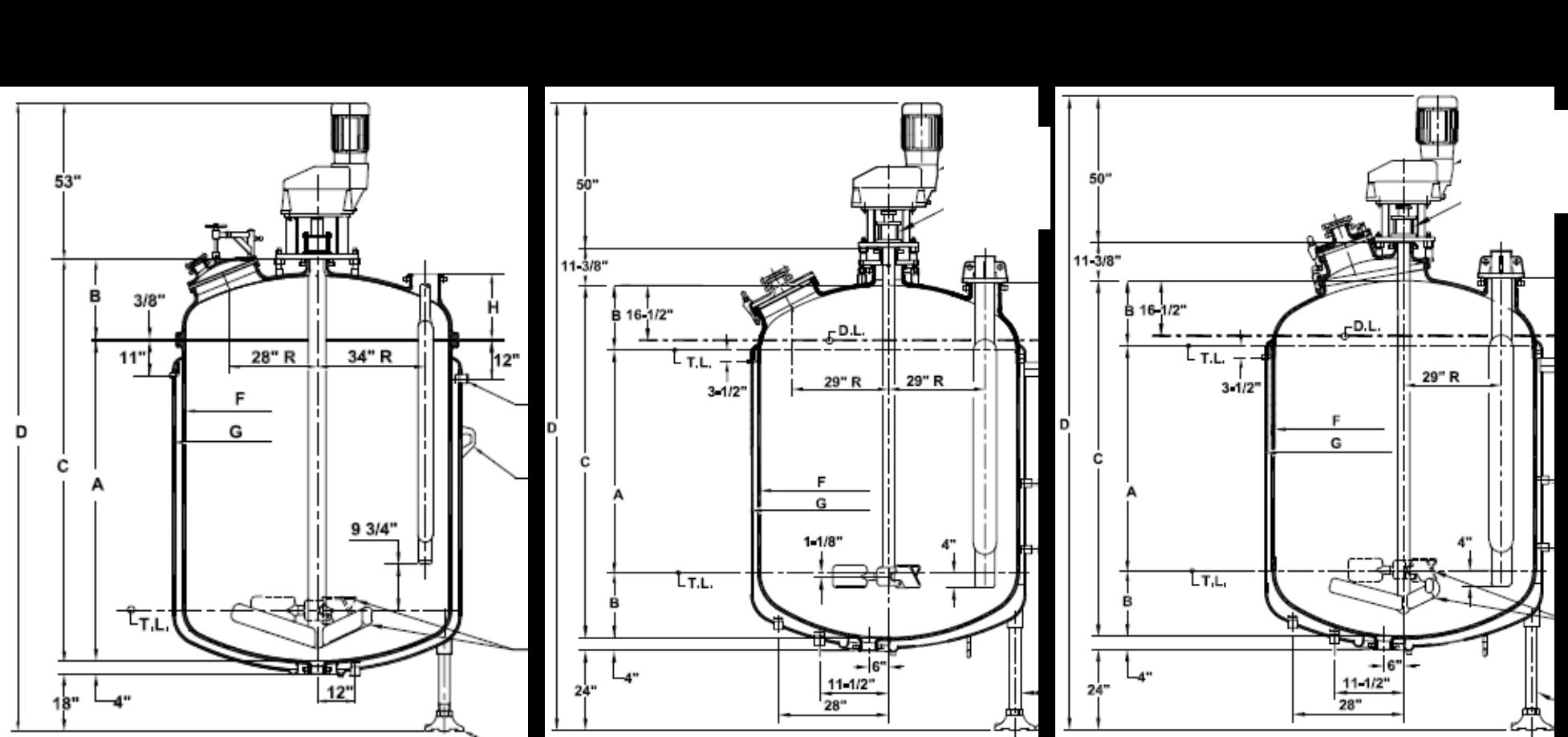 Glass-Lined Reactor Model Comparison
